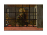Saint Mamas in Prison Thrown to the Lions  1455-1460