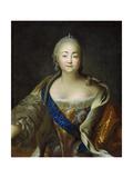 Portrait of Empress Elisabeth  1750s-1760s