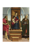The Madonna and Child with Saint John the Baptist and Saint Nicholas of Bari  1505