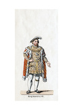 King Henry VIII of England  Costume Design for Shakespeare's Play  Henry VIII  19th Century