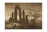 Winter - Night - Old Age and Death (From the Times of Day and Ages of Man Cycle)  1803