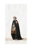 Secretary  Costume Design for Shakespeare's Play  Henry VIII  19th Century
