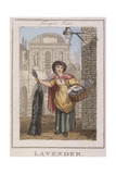 Lavender  Cries of London  1804