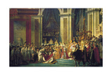 The Coronation of Napoleon at Notre-Dame De Paris on 2nd December 1804  1807