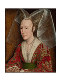 Portrait of Isabella of Portugal  Wife of Philip III Duke of Burgundy (1397-147)  Ca 1450-1475