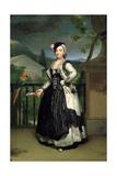 Portrait of Isabel Parreno Arce Ruiz De Alarcon Y Valdés  Marchioness of Llano