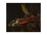 Still Life with the Drinking-Horn of the Saint Sebastian Archers' Guild  Lobster and Glasses