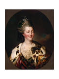 Portrait of Empress Catherine II  (1729-179)  1782