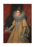 Portrait of Infanta Isabella Clara Eugenia of Spain (1566-163)  C 1598