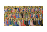 The Forerunners of Christ with Saints and Martyrs  C 1423-1424