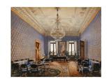 Interiors of the Winter Palace  the Drawing-Room of Grand Princess Maria Nikolayevna  1837