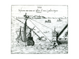 Measuring the Distance from Ship to Shore  Using a Quadrant Marked with Shadow-Scales  1598