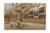 Gladiators in the Roman Arena