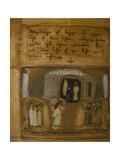 Illuminated Manuscript of the Georgian-Language Gospels  11th-12th Century