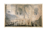 Service of Thanksgiving in St Paul's Cathedral  City of London  1789