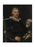 Portrait of the Haarlem Shell Collector Jan Govertsen Van Der Aer  1603