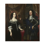 Double Portrait of the Grand Duke Ferdinand II of Tuscany and His Wife Vittoria Della Rovere  1660S