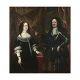 Double Portrait of the Grand Duke Ferdinand II of Tuscany and His Wife Vittoria Della Rovere  1660S
