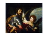 Saint Secundus and Angel  C1640