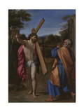 Christ Appearing to Saint Peter on the Appian Way (Domine  Quo Vadis)  Ca 1602