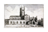 St Mary Overie's Church  Southwark  London  1647