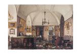 Interiors of the Winter Palace  the Study of Grand Prince Nicholas Nicolaievich  1856