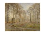 Late Autumn Day in the Jægersborg Deer Park  North of Copenhagen  1886
