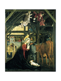 Nativity (Altarpiece of the Church of St Wolfgang Im Salzkammergu)  1481