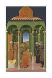 Saint Francis before the Sultan  1437-1444