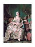 Full-Length Portrait of the Marquise De Pompadour (1721-176)