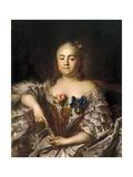Portrait of Countess Varvara Alexeyevna Sheremetyeva (1711-176)  Ca 1760