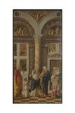 The Circumcision (Trittico Degli Uffizi (Uffizi Tryptic)  Right Pane)  Ca 1463-1464