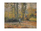 Landscape with a Hunter  Pontoise (Paysage À Pontoise Avec Un Chasseu)  1879