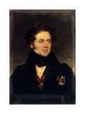 Portrait of Count Alexey Alexeyevich Perovsky (1787-183)  Writer Antony Pogorelsky  1827