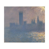 Houses of Parliament  Sunlight Effect (Le Parlement  Effet De Solei)  1903