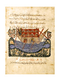 A Ferry (Folio from an Arabic Translation of the Materia Medica by Dioscoride)  1224