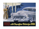 Poster Advertising a Buick  1952