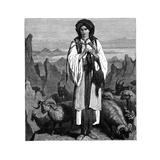 Albanian Shepherdess  C1890
