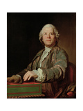 Portrait of the Composer Christoph Willibald Ritter Von Gluck (1714-178)  1775
