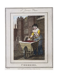 Cherries  Cries of London  1804