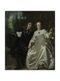 Abraham Del Court and His Wife Maria De Kaersgieter  1654