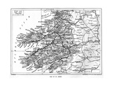 Map of County Kerry  Ireland  1924-1926