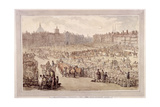 View of Smithfield Market  London  1810