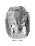 Scene from a Christmas Carol by Charles Dickens  1843