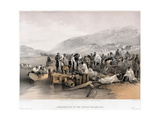 The Embarkation of the Sick at Balaklava  1855
