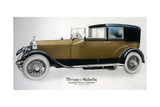 Enclosed Drive Rolls-Royce Cabriolet with Extension Open  C1910-1929