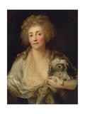 Portrait of Anna Oraczewska with the Dog  1789