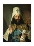 Portrait of Catholicos-Patriarch of All Georgia Anton II (1788-181)  1811