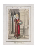 Slippers  Cries of London  1804