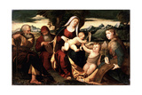 The Holy Family with John the Baptist  Second Half of The16th Century